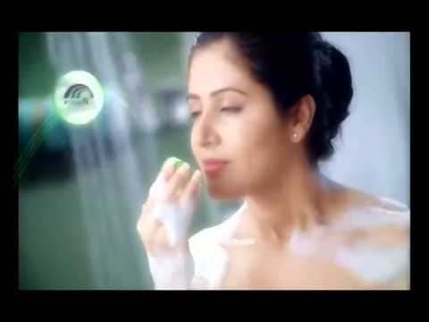 Beautiful model in the new vivel soap ad