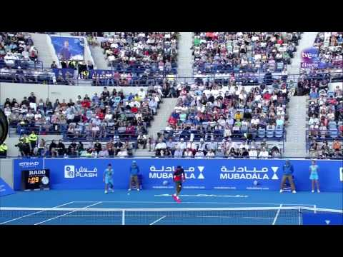 Nadal vs Ferrer Abu Dhabi 2013 SET2 Semifinal HD Full Match