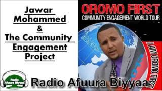 Radio Afuura Biyyaa: Interview with Ob. Jawar Mohammed about the 'Oromo First' Community Engagement World Tour