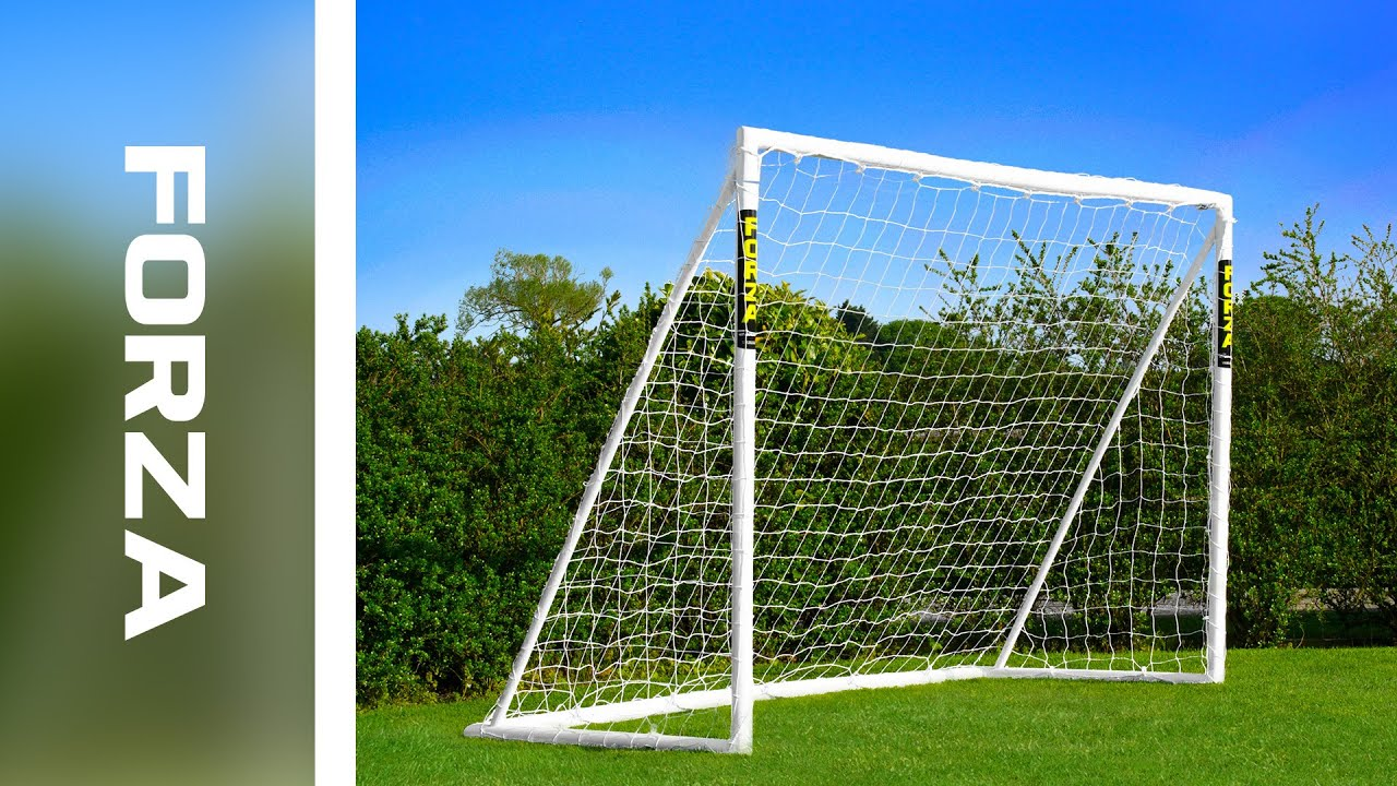 The ONLY GOAL That can be left outside in any weather 8 x 4 FORZA Football Goal Locking Model - FORZA 8 X 4 GOAL Locking