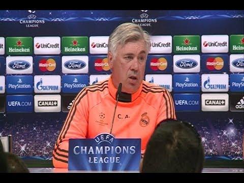 Ancelotti dice que Cristiano jugará si está bien
