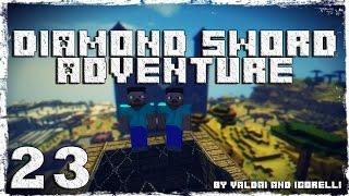 [Coop] Minecraft Diamond Sword Adventure. #23: Озеро огня.