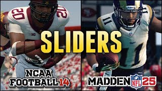 MrHurriicane's Madden 25 & NCAA 14 Slider Sets (Used in My Series)