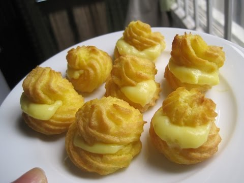 Hướng dẫn cách làm bánh su kem đơn giản - Món ngon mỗi ngày