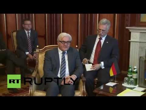 Ukraine: Steinmeier attempts to arrange dialogue between Kiev and separatists