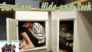 Funny Family Sardines Game- Hide and Seek