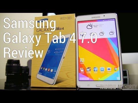 Samsung Galaxy Tab 4 (7.0) Review