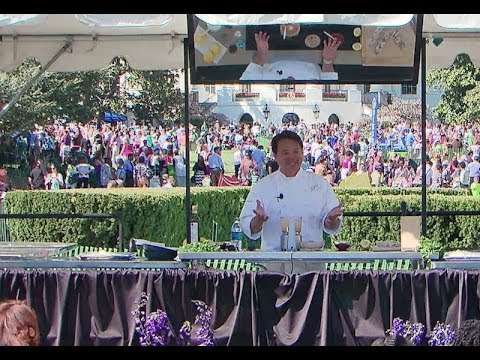 2014 White House Easter Egg Roll: Play with Your Food with Charles Phan