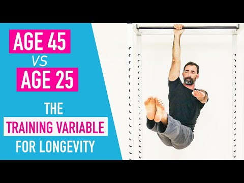 Training at age 45 vs 25 (and what to focus on for longevity)