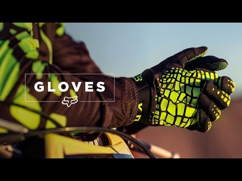 FOX MX PRESENTS | GLOVES | THE ONLY THING UNCHANGED ARE THE NAMES