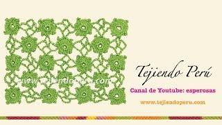 Cómo Tejer El Punto Manzanillón Recto A Crochet