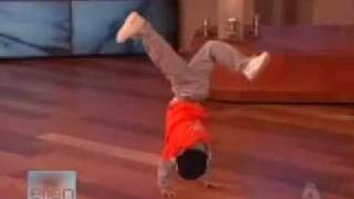 7 year old breakdancer on ellen again