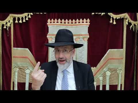 Le Rabbi explique les 10 commandement. Réfoua chéléma et réussite de Benoît ben Joëlle