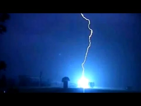 The Best Lightning Strike Compilation Ever (Part 3 / 4)