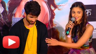 Alia Bhatt Turns A Baby Sitter For Shahid Kapoor