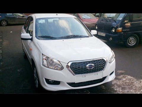 Datsun GO Sedan Spied Without Camouflages !