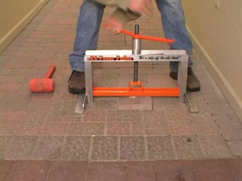Brick Pavers Paver Tools Ez Paver Puller Youtube