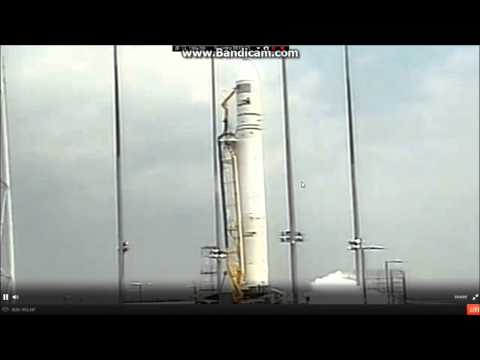 Orbital Sciences Corporation Cygnus Orbital-2 Mission Launch Video