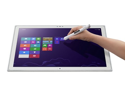 New Panasonic ToughPad 20inch Windows Tablet PC, Worlds First 4K PC