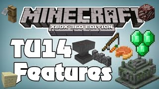 List Of Features In TU14 Minecraft Xbox 360 News