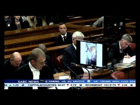 Van Rensburg describes how he found Steenkamp lying dead