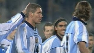 Highlights: Italia-Argentina 1-2 (28 febbraio 2001)
