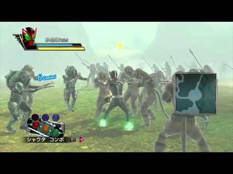 Kamen Rider: Battride War- OOO Gameplay