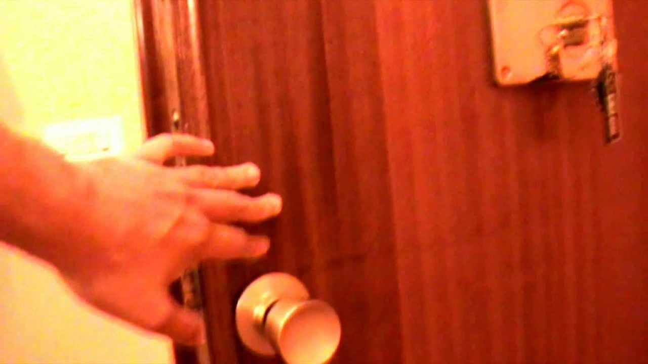 Che como abrir una puerta de pomo redondo youtube - Pomos redondos para puertas ...