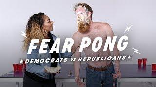 Democrats & Republicans Play Fear Pong (Andrew vs. Shakera)