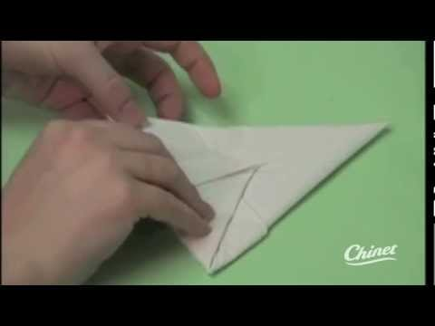 printable napkin folding instructions