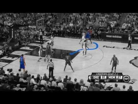 NBA CIRCLE - Oklahoma City Thunder Vs Memphis Grizzlies Game 4 Highlights - 13 May 2013 NBA Playoffs