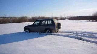 RAV-4 по снегу