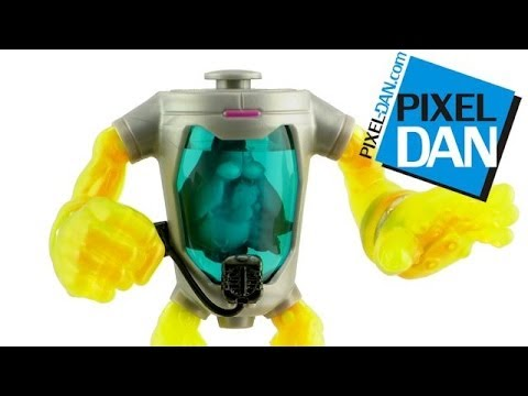 Nickelodeon Teenage Mutant Ninja Turtles Mutagen Man Figure Video Review