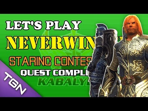 Let's Play Neverwinter - Staring Contest Quest Complete, http://play.any.tv/SHPKA — Play Neverwinter FREE!