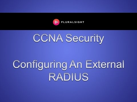 Configuring an External RADIUS Server