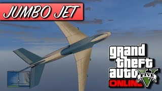 GTA 5 Online How To Get The Jumbo Jet Cargo Plane