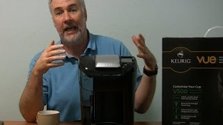 Keurig Vue V500 Single Cup Coffee Maker Review