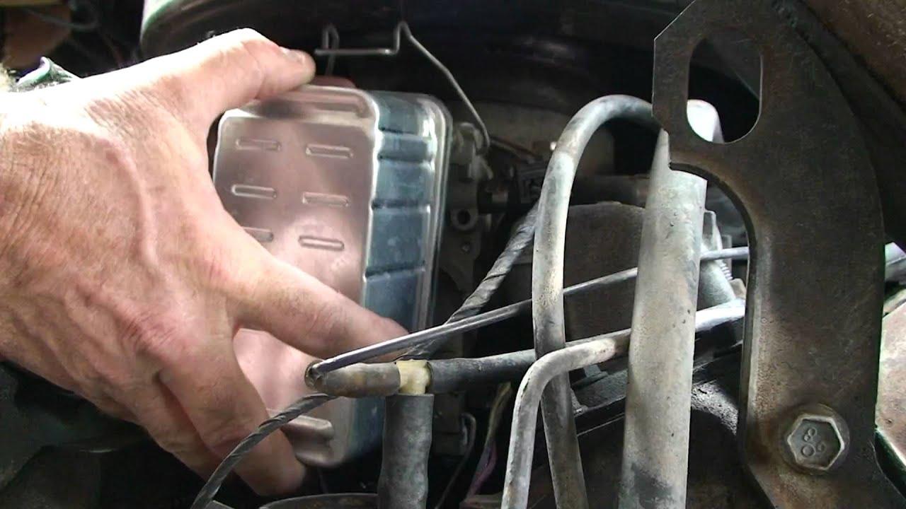 chevy van 1988 chevrolet fuel filter diesel gmc changing