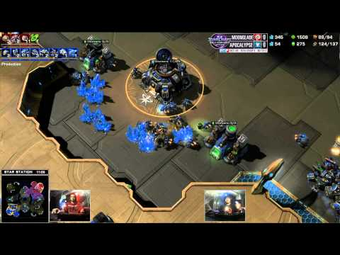 Moonglade vs Apocalypse - Game 1 - WCS AM Premier Ro16 Group B
