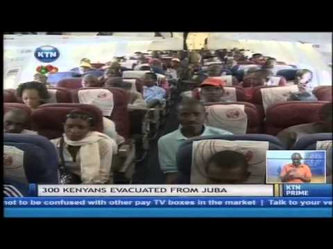 300 Kenyans evacuated in Juba