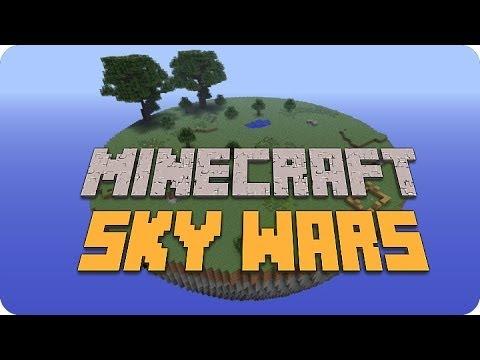 Minecraft - Sky Wars ¡La de las Escaleras! xD