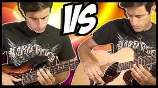 Guitar Slap vs Bass Slap