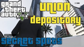 GTA V ONLINE: How To GET INSIDE The Union Depository Under