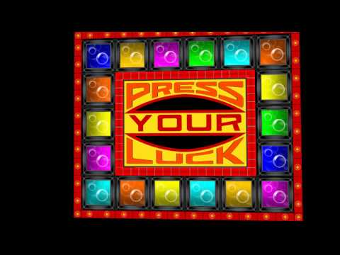 &quot;Press Your Luck&quot; -- Cues and board patterns by Javan H.