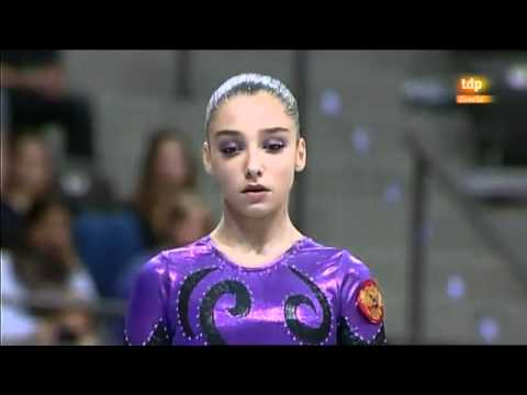 Aliya Mustafina World Gymnastics 2010 AA - Beam