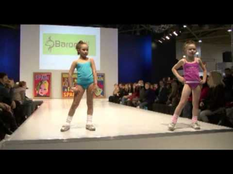 Spain children's fashion show on CPM 24.02.09