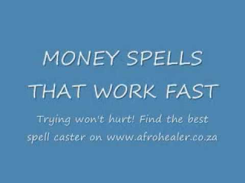 Money Spells That Work Fast By Doctor Ali In Durban Youtube