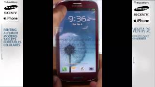 Como Poner En Download Mode Samsung Galaxy S3 I9300 I747