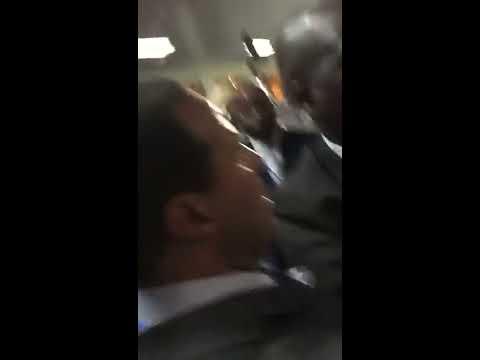 الاعتداء على وزير خارجية المغرب ومحاولة منعه من حضور اجتماع في الموزمبيق