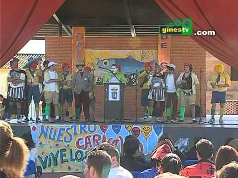 El Entierro de la Sardina cerró el Carnaval de Gines más largo de la historia